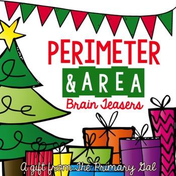 Perimeter & Area Brain Teasers
