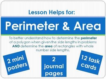 Perimeter & Area Helps