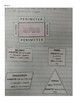 Perimeter & Area Interactive Notebook Notes