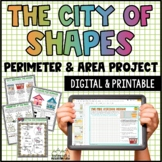 Perimeter and Area Project | Digital and Printable