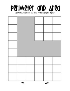 Perimeter & Area Math Task with Cheese Crackers