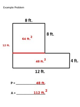 Perimeter & Area PowerPoint Lesson