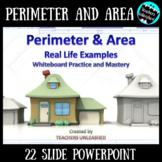 Perimeter and Area PowerPoint Lesson