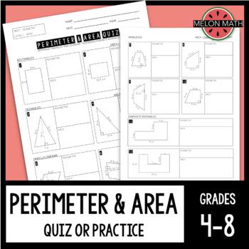 Perimeter & Area Quiz