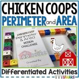 Perimeter & Area Tiered Chicken Coop Design
