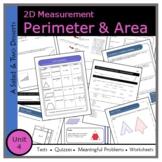 Perimeter & Area (Unit 4)- Middle School: Grade 7