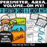 Perimeter Area Volume Activity PRINTABLE and DIGITAL