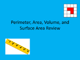 Perimeter, Area, Volume, and Surface Area Questions