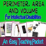 NO PREP Perimeter, Area & Volume for Intellectual Disabilities