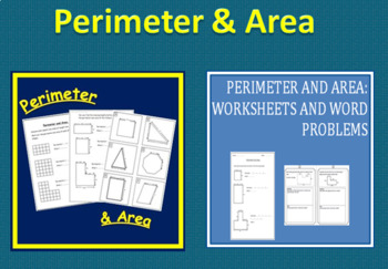 Perimeter & Area: Worksheets and Activities