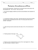 Perimeter, Area and Circumference
