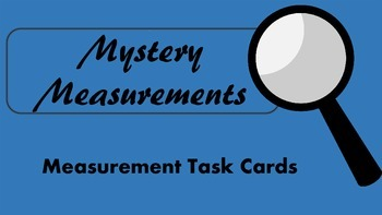 Perimeter, Area and Conversion Task Cards