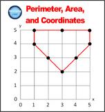 Perimeter, Area, and Coordinates