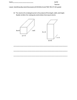 Perimeter, Area, and Volume Thought Puzzles