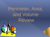 Perimeter, Area and Volume Turning Point Review
