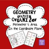 Perimeter & Area in the Coordinate Plane Graphic Organizer