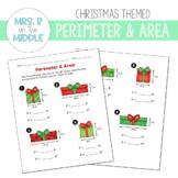 Perimeter & Area: Christmas Edition