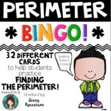 Perimeter BINGO! 32 Different Cards PLUS Instructional Pos