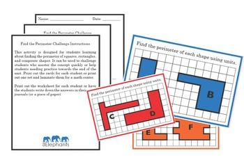 Perimeter Challenge Cards