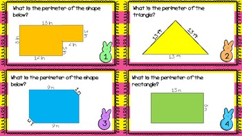 Perimeter Easter Scoot- Differentiated