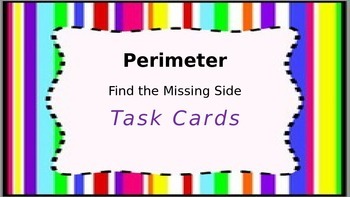 Perimeter - Find The Missing Side