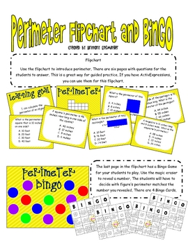 Perimeter: Flipchart and Bingo Game