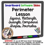 Perimeter Formulas Square Rectangle Triangle Compound Shapes Missing Measure