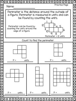 Perimeter - Count to Find Perimeter