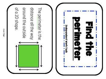 Perimeter Independent Task Cards