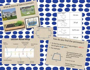 Perimeter Lesson and Memory Game