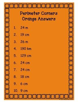 Perimeter Math Game