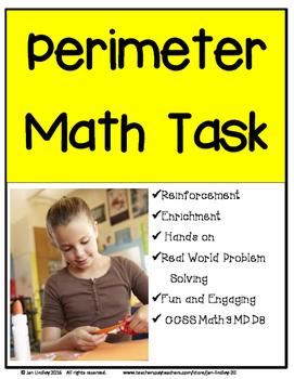 Perimeter Math Task
