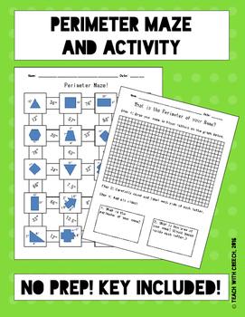 Perimeter Maze and Activity