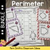 Perimeter Center Games Task Cards and Printables Bundle
