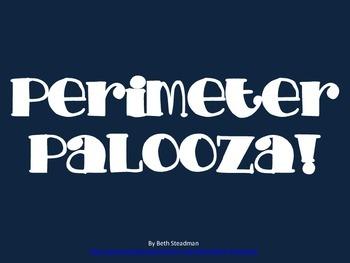 Perimeter Palooza - Perimeter Word Problems