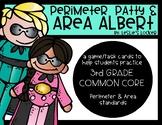 Go Math! 3rd Grade Perimeter & Area Game