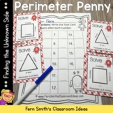 Perimeter Penny - Finding the Unknown Side Center Game, Ta