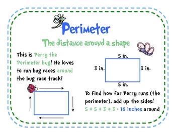 Perimeter: Perry the Perimeter Bug Posters