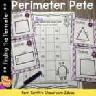 Perimeter Pete - Finding Perimeter Center Games, Task Card