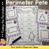 Finding Perimeter Center Games Task Cards and Printable Wo
