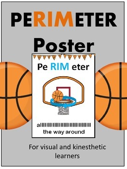 Perimeter Poster for visual and kinesthetic learners
