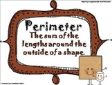 Perimeter Powerpoint and Worksheets - Common Core Aligned