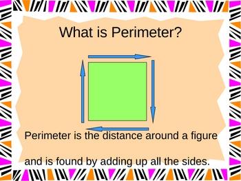 Perimeter  Practice Power Point Presentation