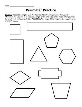 Perimeter Practice (basic)