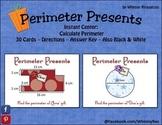 Perimeter Presents - Geometry - Math Center - Christmas Holiday