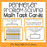 3rd Grade Perimeter Problem Solving Task Cards | Perimeter Center