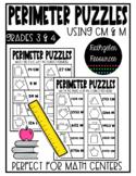 Perimeter Puzzles with CM & M {Manitoba Math}