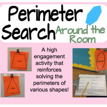 Perimeter Search- Around the Room Activity