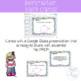 Third Grade Perimeter Task Cards and Google Classroom 3.MD.8 TEKS 3.7B