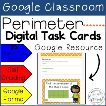 Perimeter Task Cards - Google Drive & Google Classroom